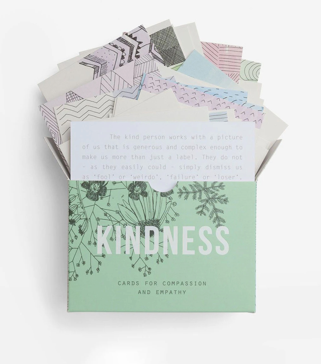 Kindness card deck from Edge of Urge