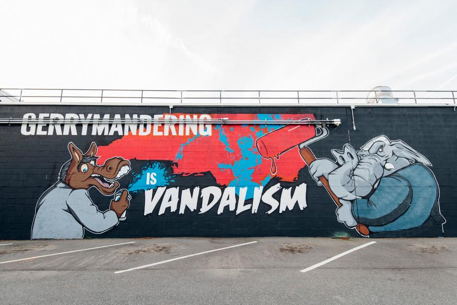 Gerrymandering is Vandalism