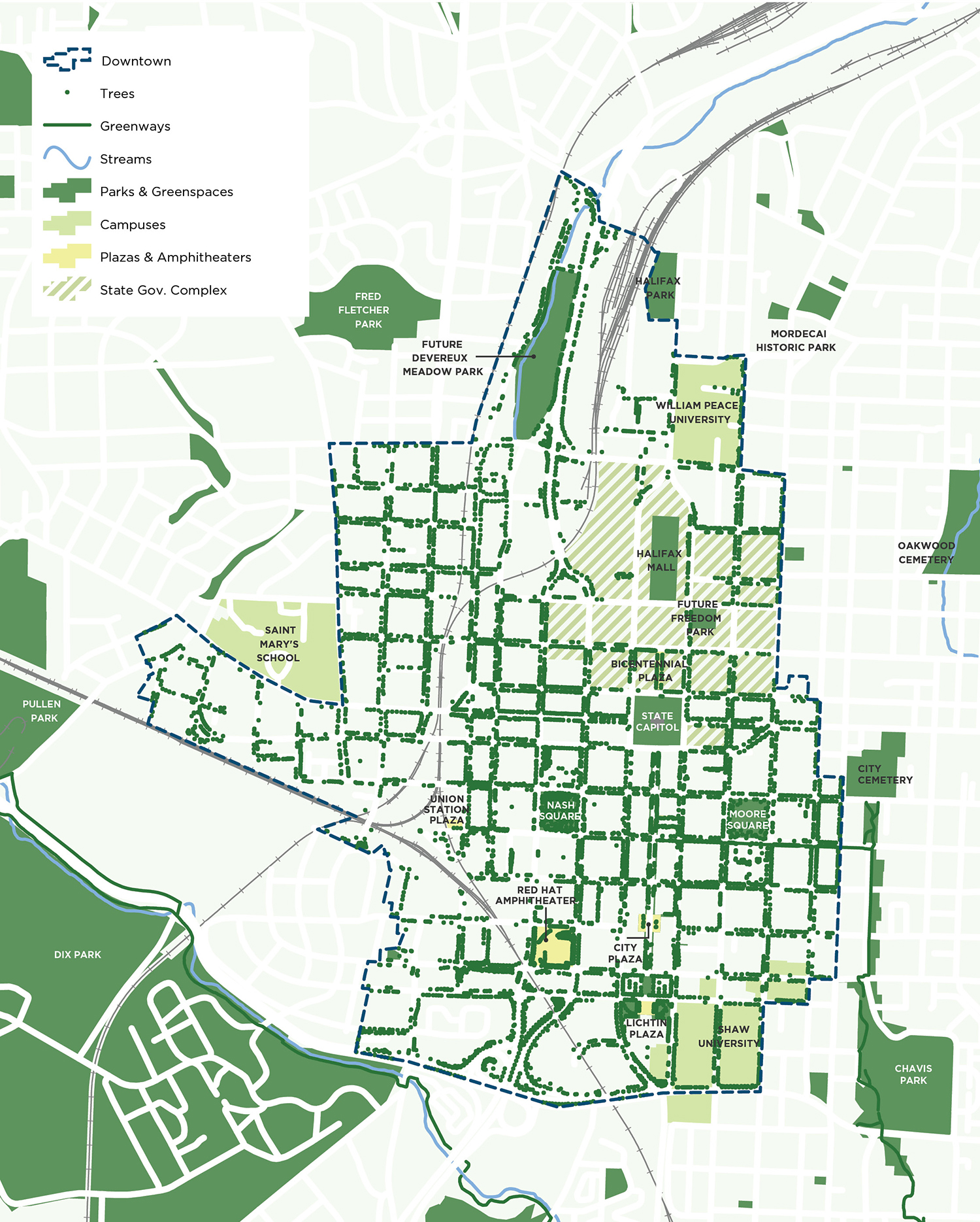 Greenspace Map