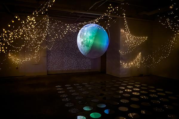 stars and earth art