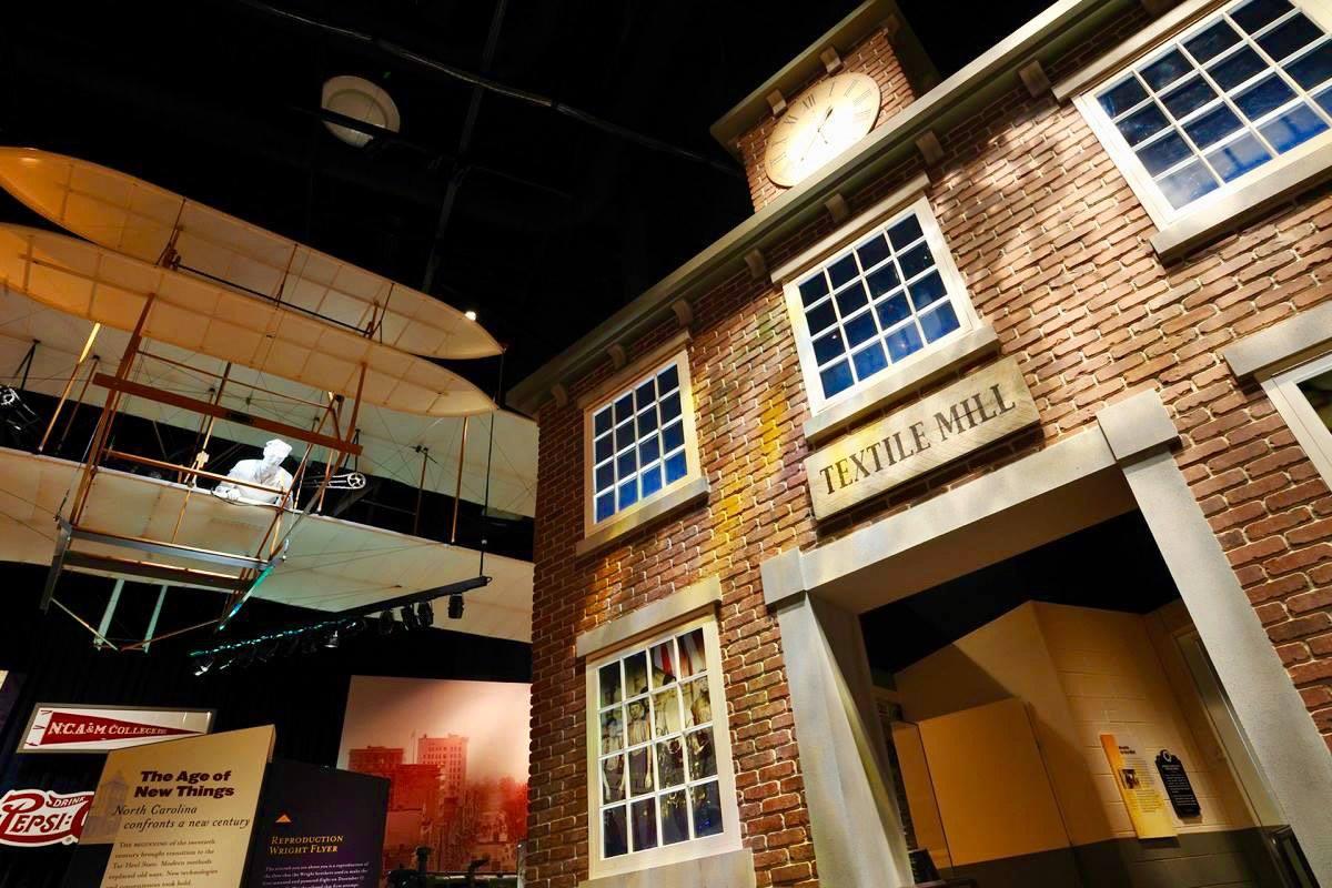 NC Museum of History Textile Exhibit