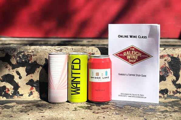 Raleigh Wine Shop online class kit
