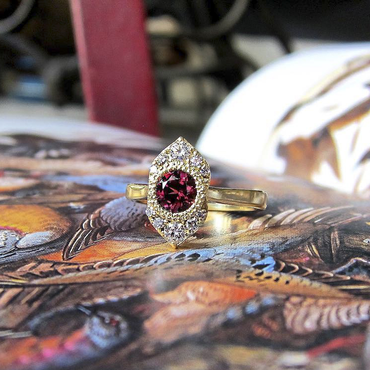 Ruby Ring from Quercus Raleigh