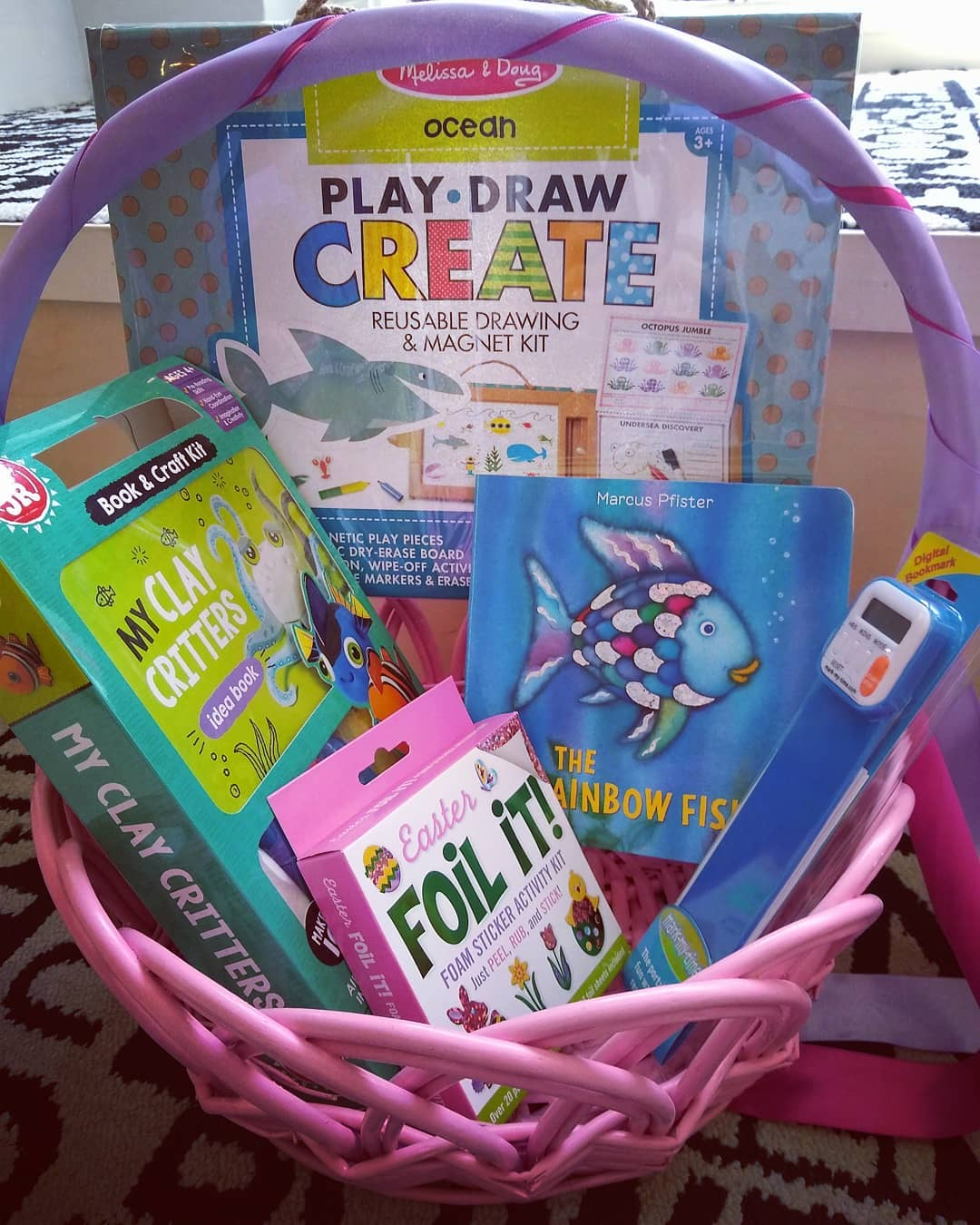 Read with Me Easter basket