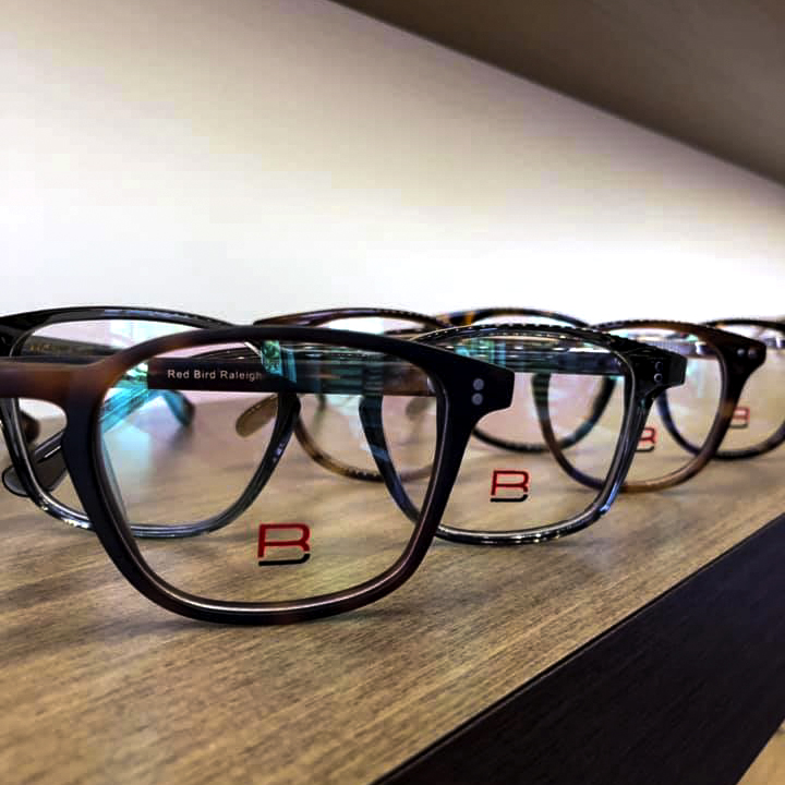 Redbird eyewear from The Eye Institute