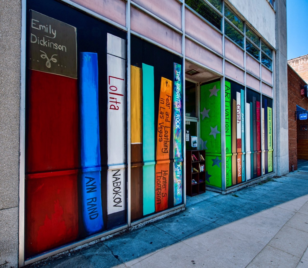 """Books"" by Susan Skryzcki and Photo by Steve Coad at 211 W Martin Street"