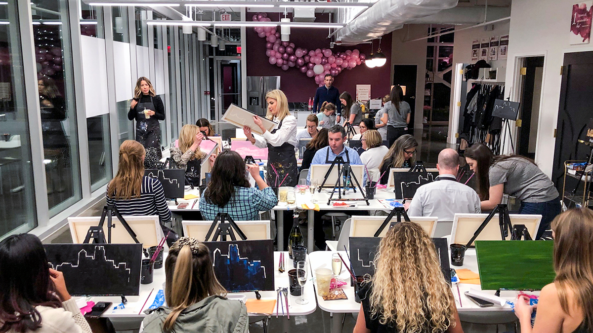 Wine & Design Influencer event