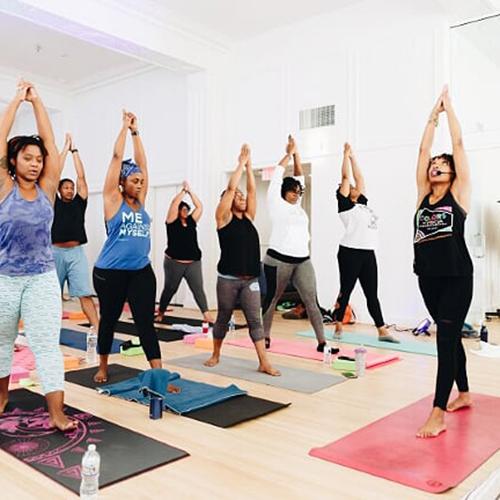 Colors of yoga