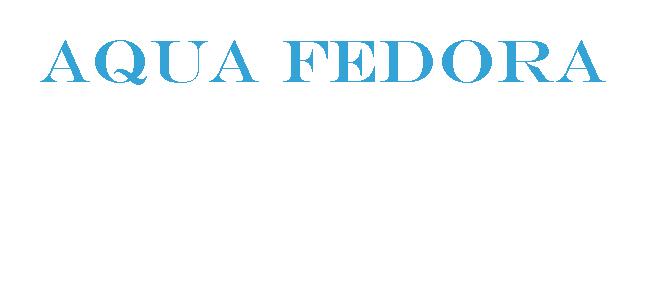 Aqua Fedora