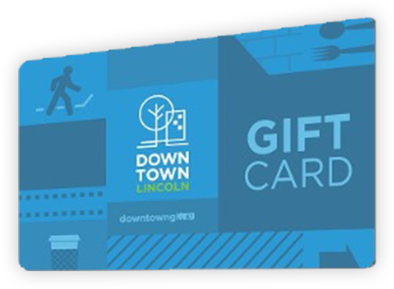 Downtown Lincoln Gift Card