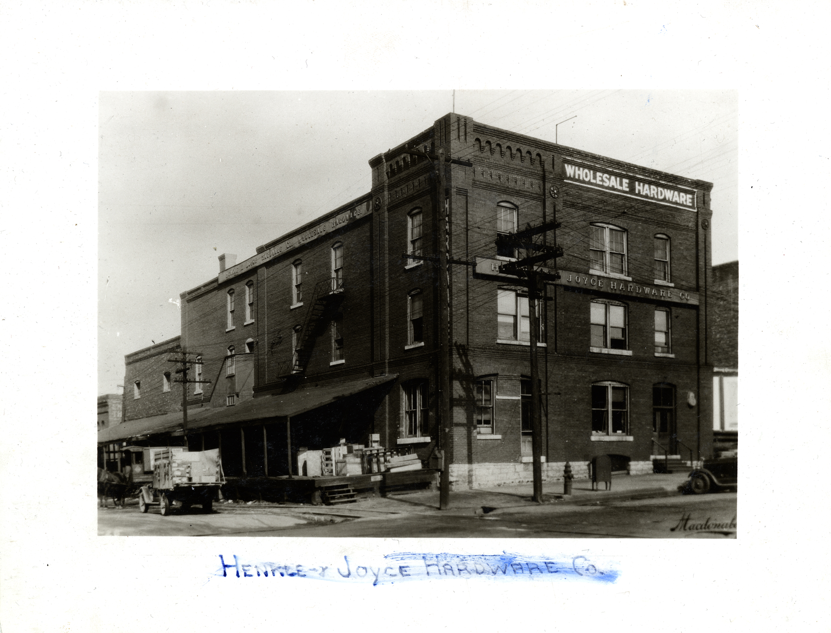 20. Henkle & Joyce Hardware Building