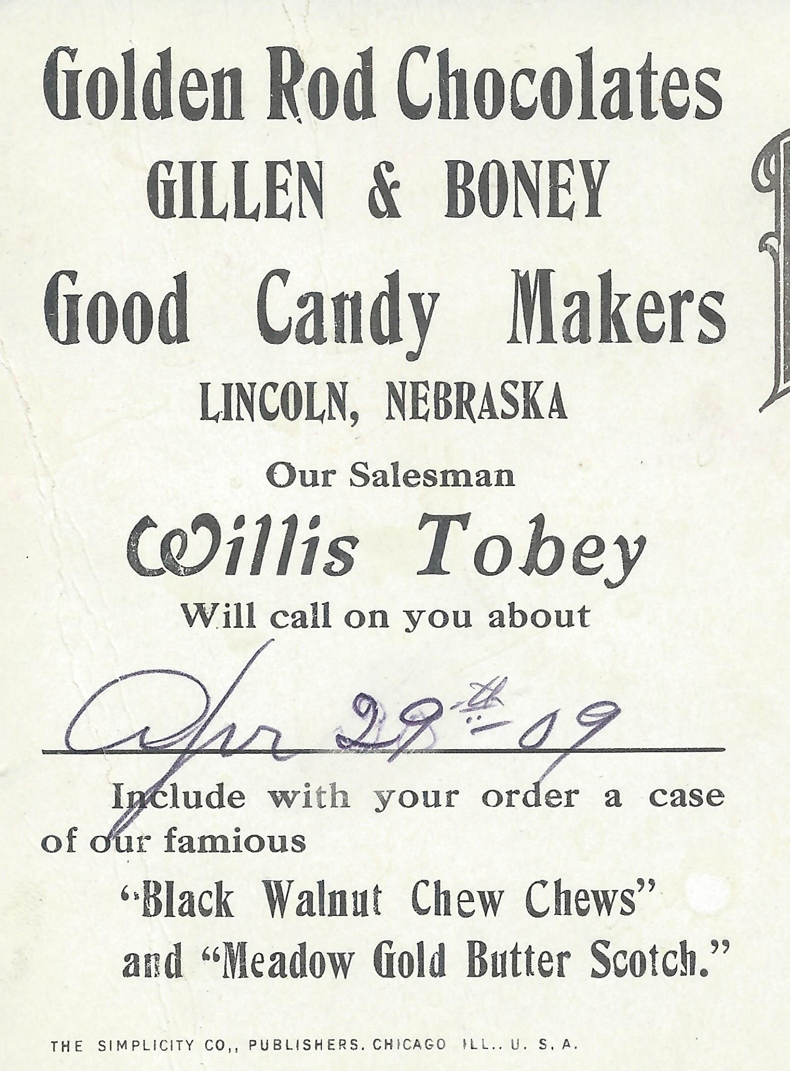 26. Gillen & Boney Candy Factory