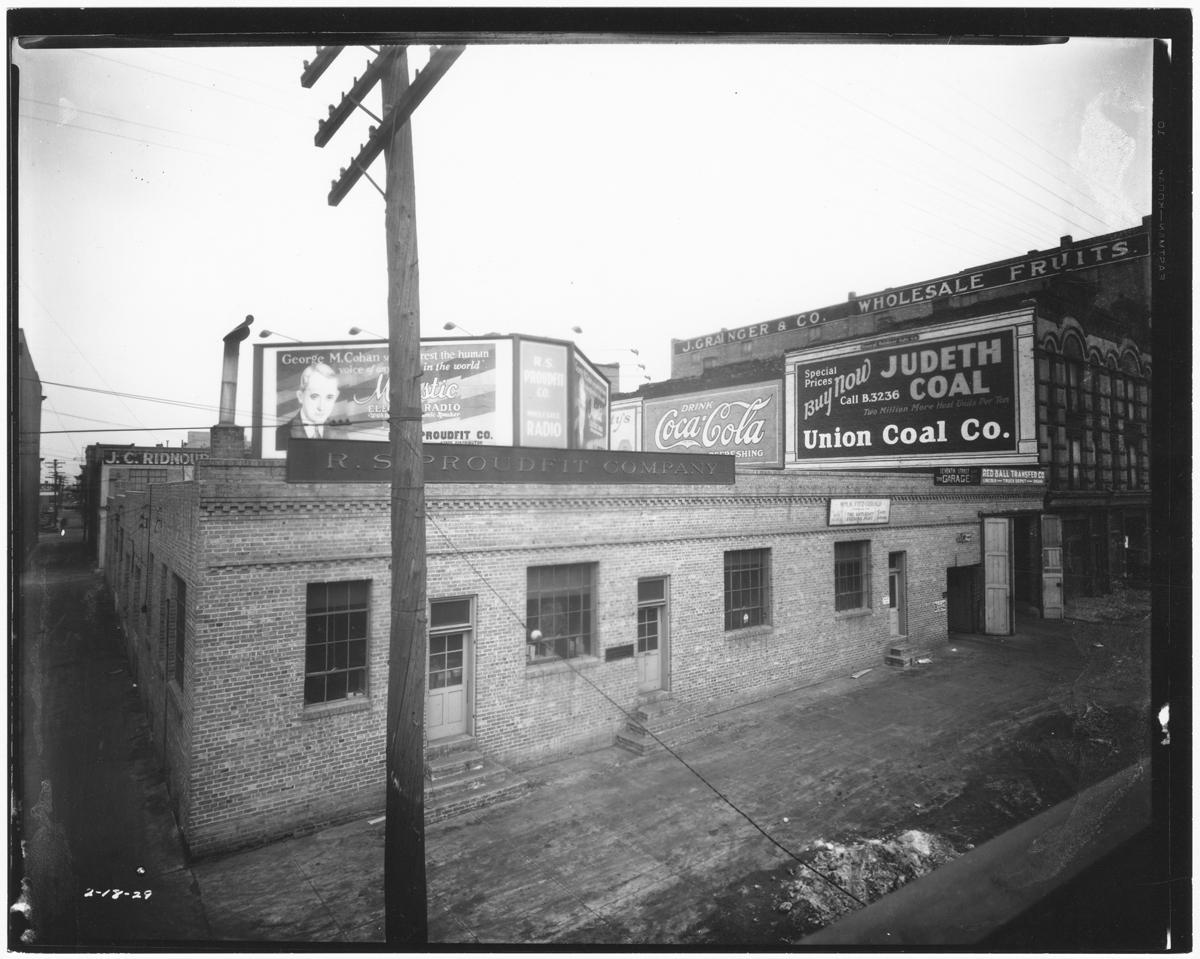 47. Proudfit Co. Buildings