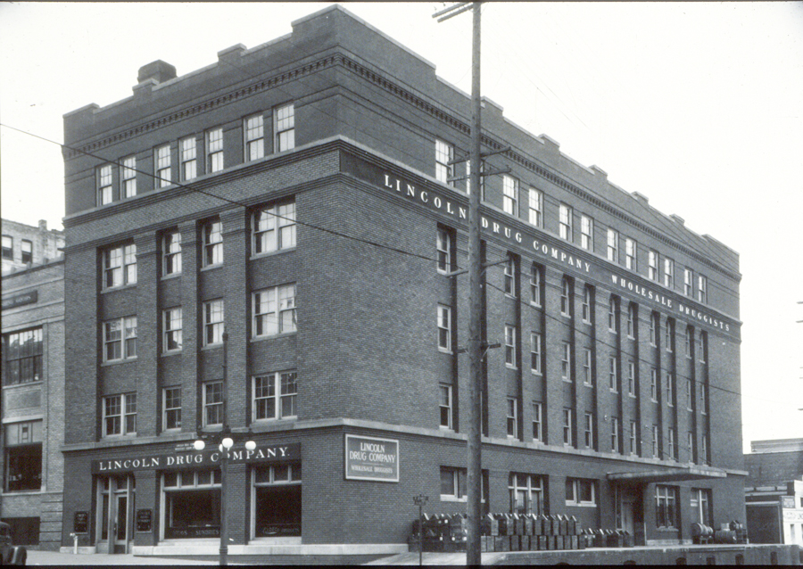 33. Lincoln Drug Company Building