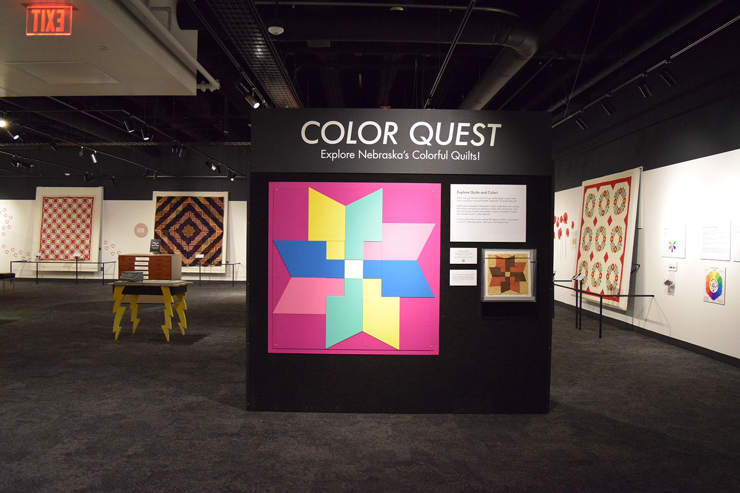 Color Quest Encourages Quilting Curiosity Hands On Play Downtown