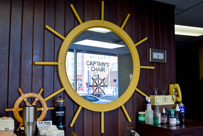 Captain's Chair Reflects on 65 Years