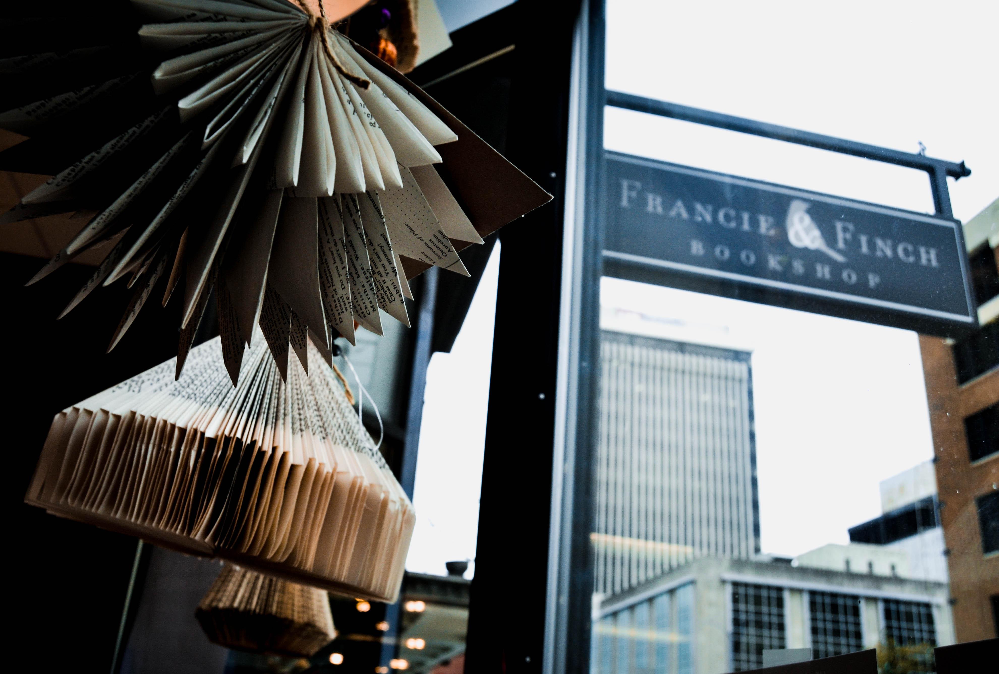 Shop the Blocks 2020 Spotlight: Francie & Finch Bookshop