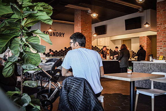 The Foundry Brings Coworking, Coffee, Community to 14th Street