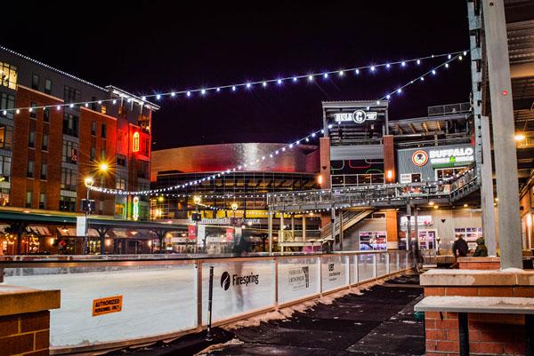 Railyard Ice Skating Rink