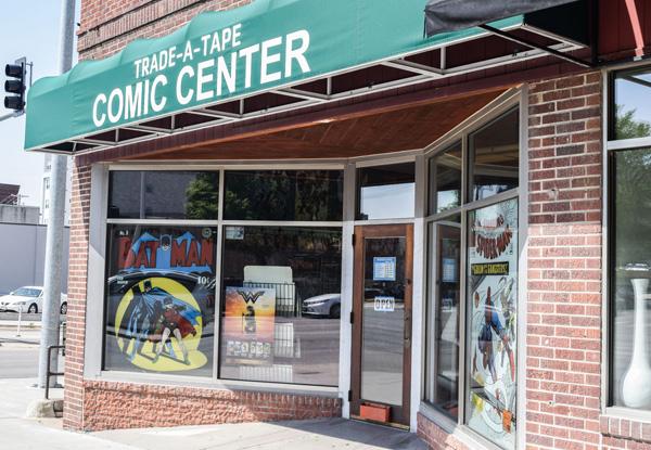 Trade-A-Tape/Comic Center