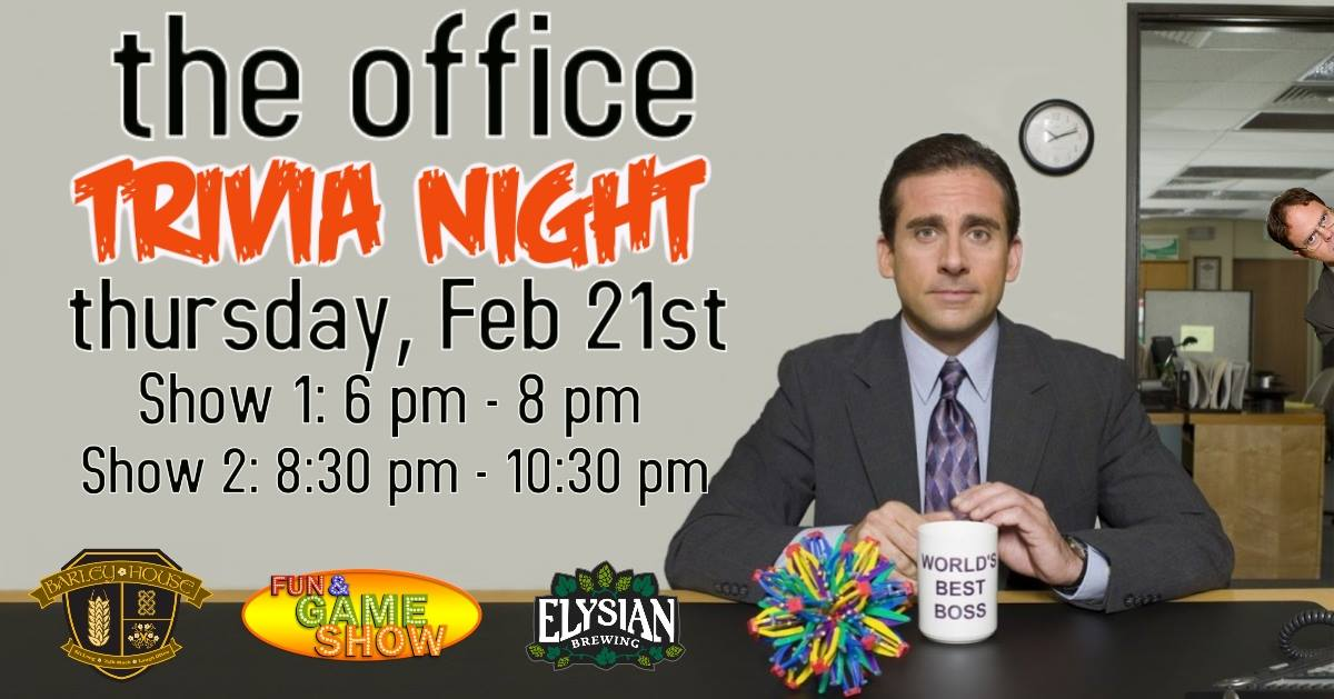 The Office Trivia Night | Events | Downtown Akron, OH