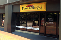 Street Treats Grill offers quick breakfast and lunch options