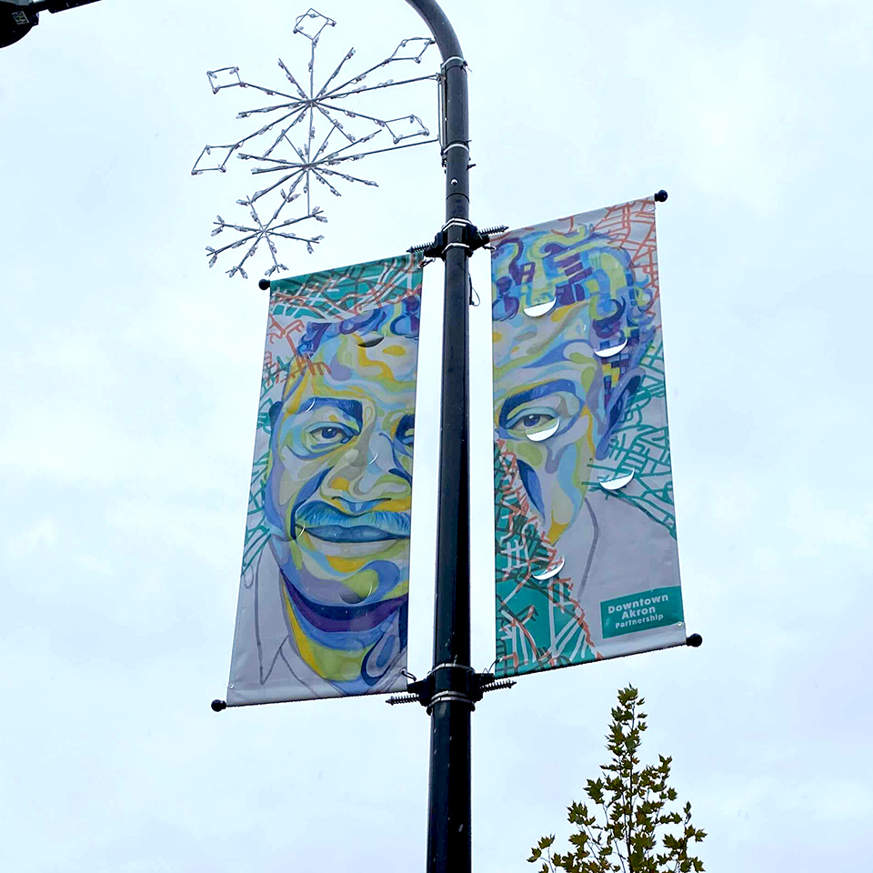 Photograph of We Are banner