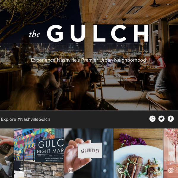 Eat Explore The Gulch Nashville