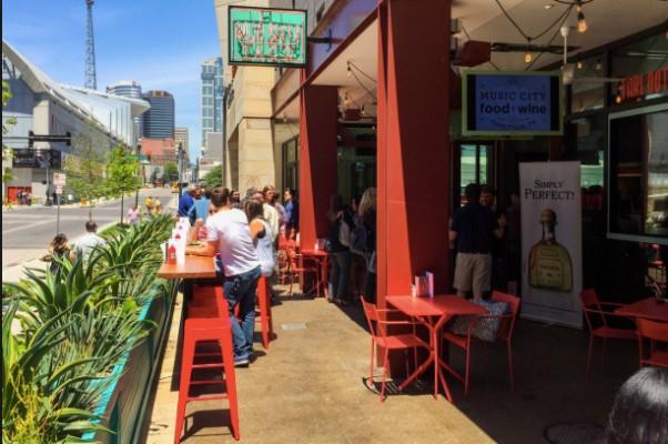 Dining Downtown Nashville