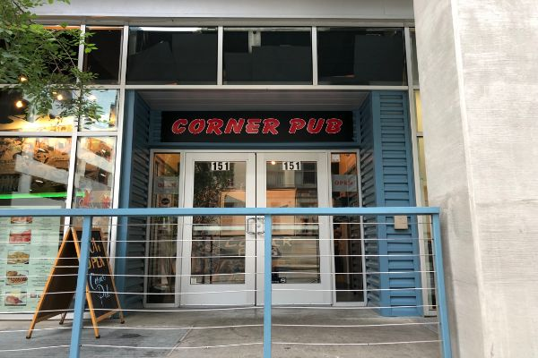 Corner Pub Downtown