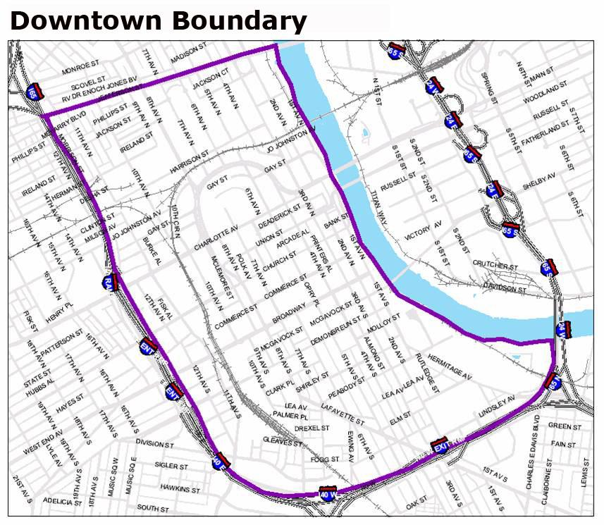 Nashville Downtown Partnership  Work  Employee Survey