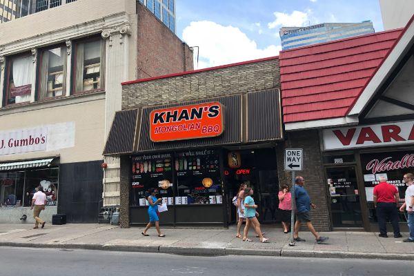 Khan's Mongolian BBQ & Sushi
