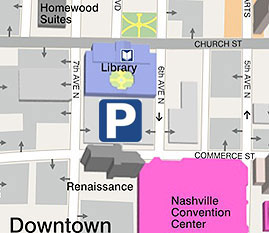 parking in downtown Nashville