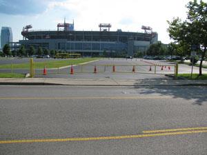 Nissan Stadium Lot B