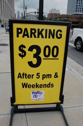 Nashville parking downtown