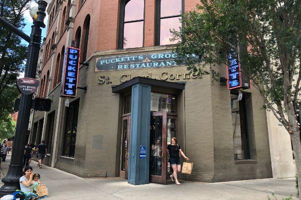 Puckett's Gro  & Restaurant   Downtown Nashville