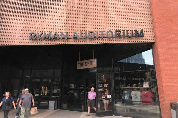 Ryman Auditorium Gift Shop