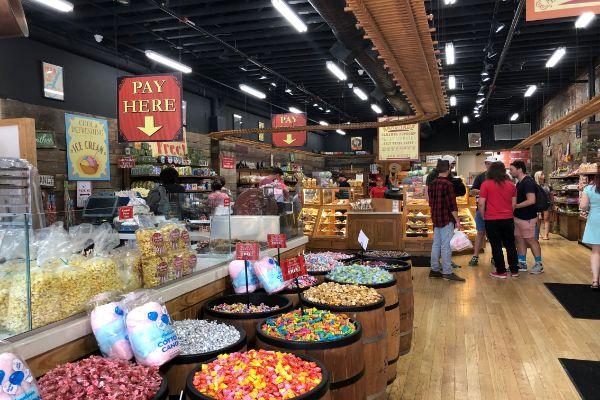 Savannah S Candy Kitchen Of Nashville Downtown Nashville