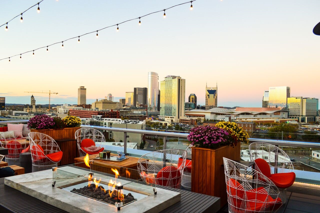 UP, a rooftop lounge