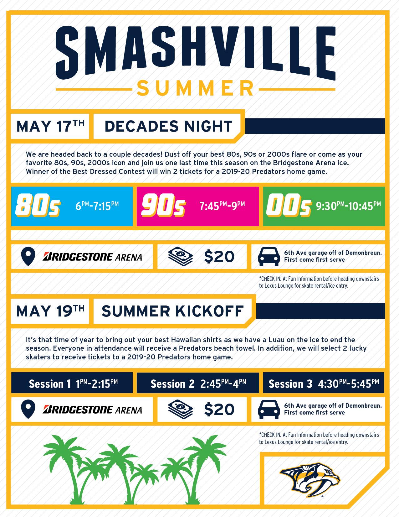 Bridgestone Arena Sunday Public Skate   Events Calendar