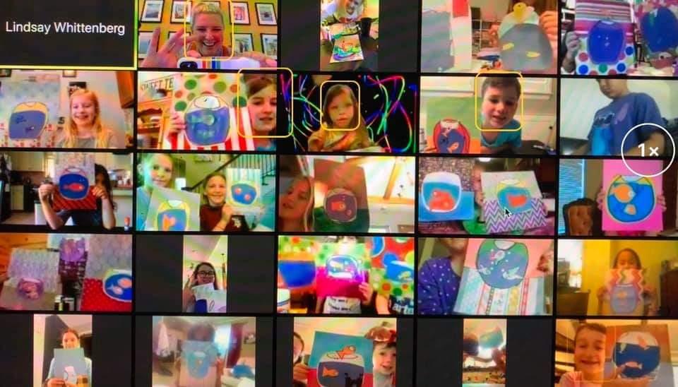 Virtual Lindsays Art Cart