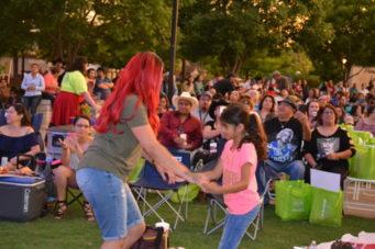 Dancing at the Levitt