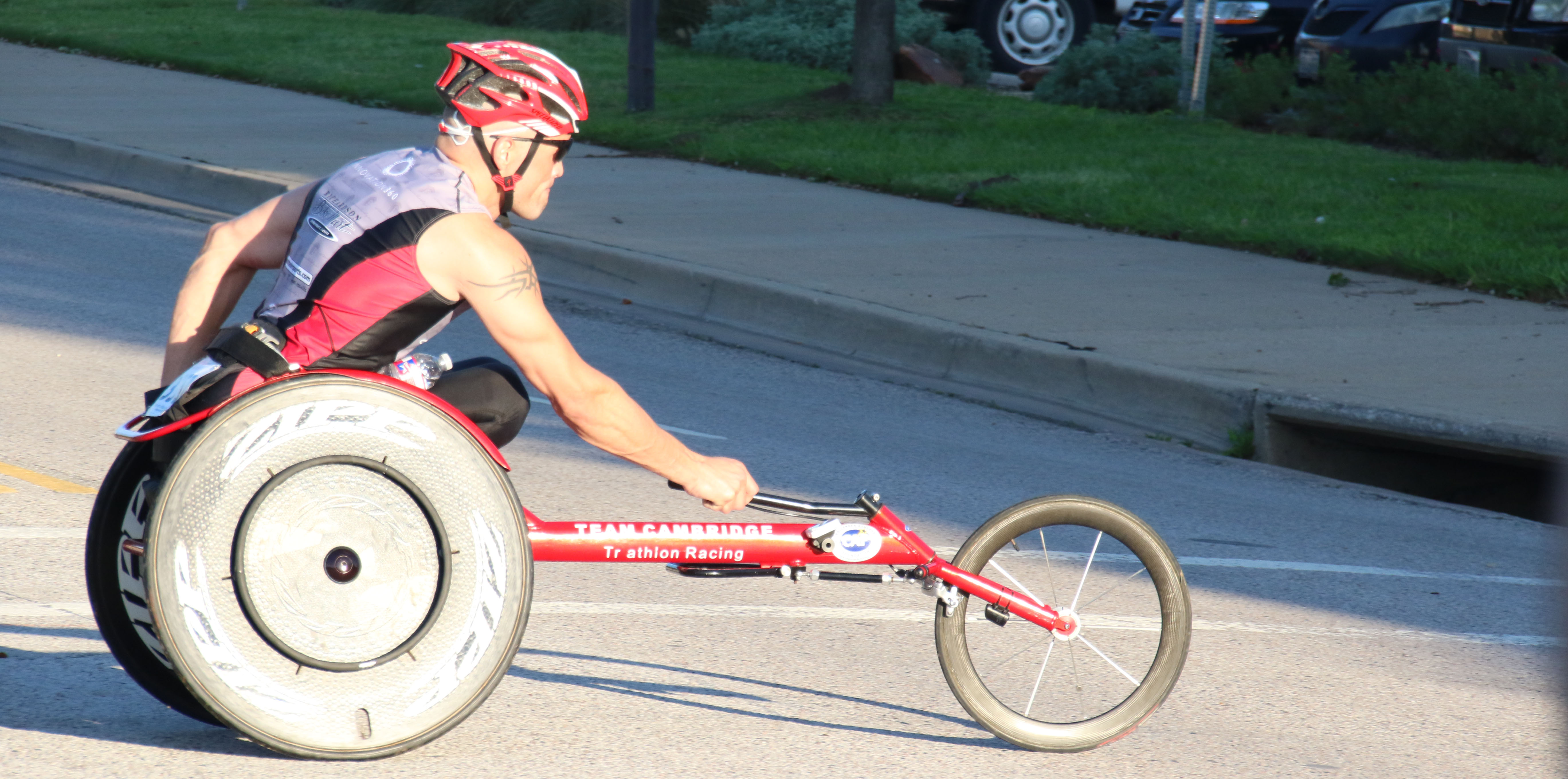 Lone Star Race - adaptive/wheelchair athlete