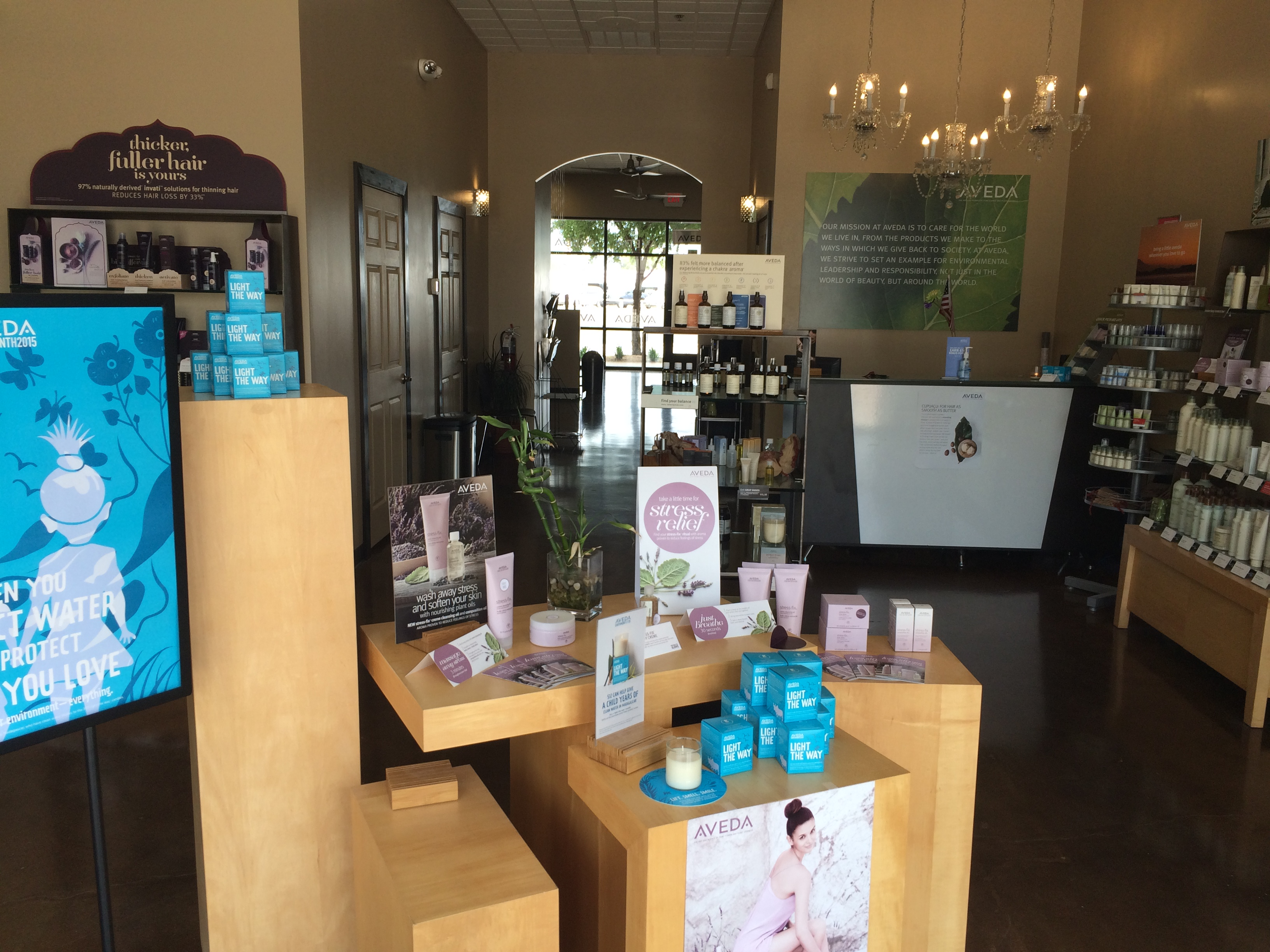 Maren Karsen Aveda Salon in Downtown Arlington