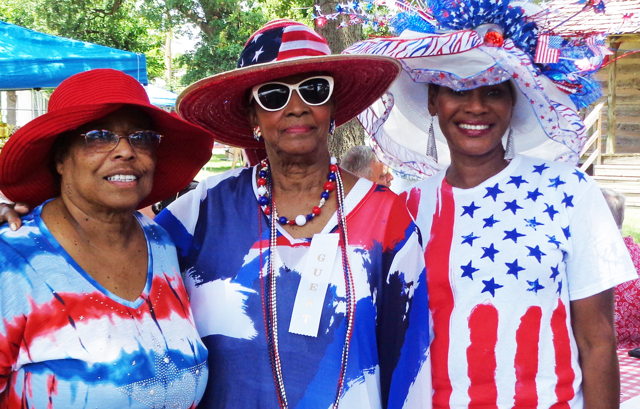 Rudy Odom Patriotic Hat Contest for the 4th of July