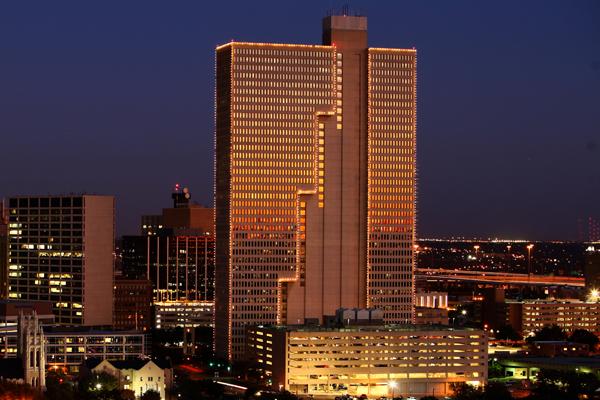 Burnett Plaza - Downtown Ft Worth TX