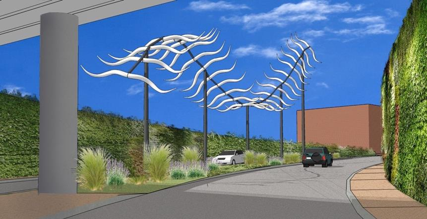 (Artwork proposal rendering courtesy Corson Studios LLC)