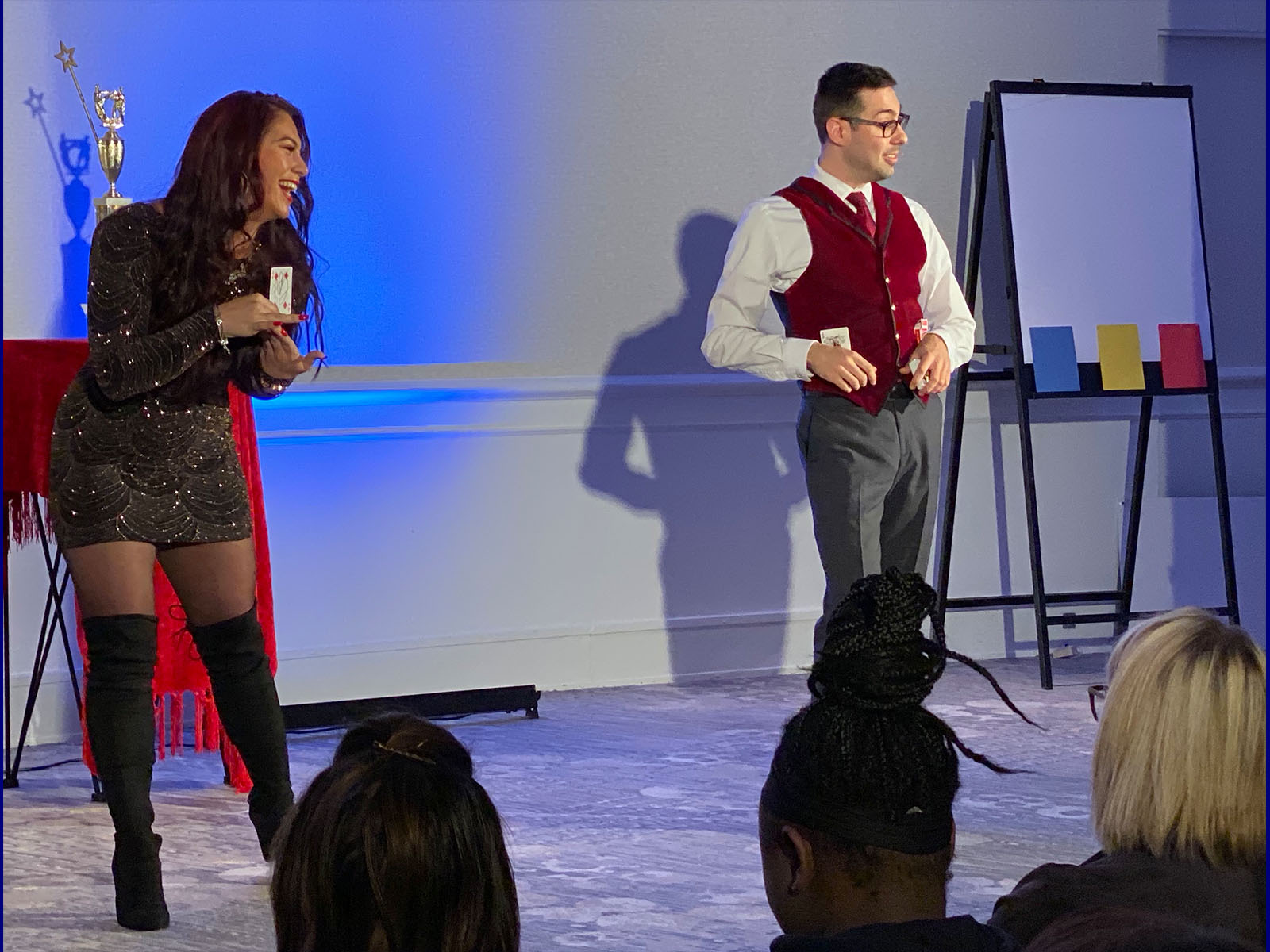 The Magic Duel Comedy Show at The Synetic Theater 1