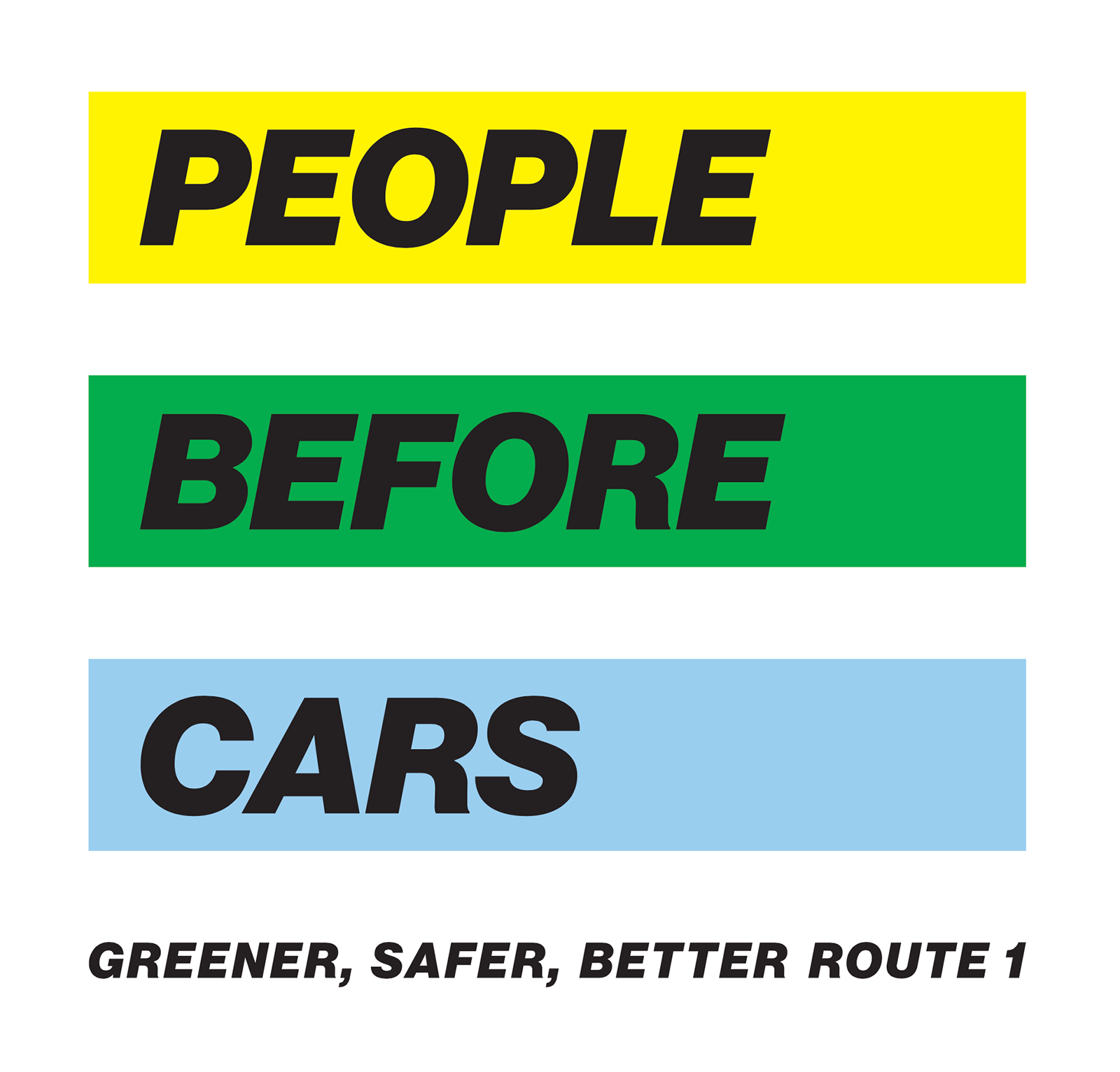 People Before Cars