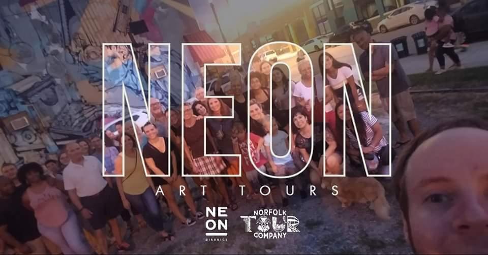 NEON Public Art Tour